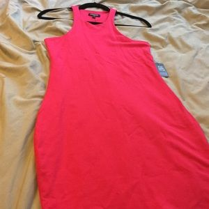 NWT Hotpink express bodycon tank dress size medium